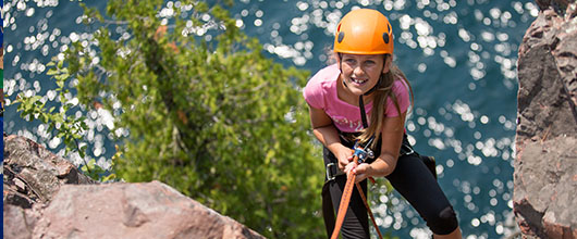 Adventure sports programs for girls